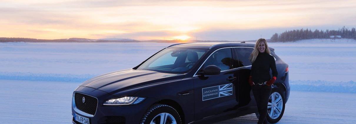 Jaguar Land Rover Experience - Ice Academy, Jaguar F-Pace, Land Rover Range Sport. EUROPE, Sweden, Arjeplog, 21.02.2017